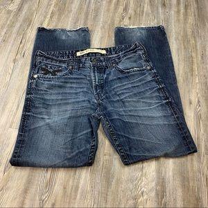 Big Star Pioneer Bootcut Denim Blue Jeans SZ 36  L